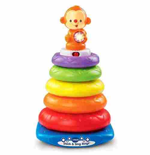 8 Month Old Toys VTech Stack and Sing Rings