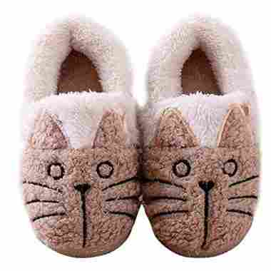 Cute Cat Warm House Booties