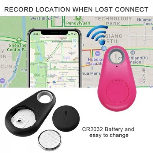 xenzy bluetooth dog gps tracker map