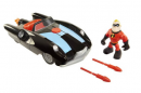 Mr Action Piece Set Car/Figure