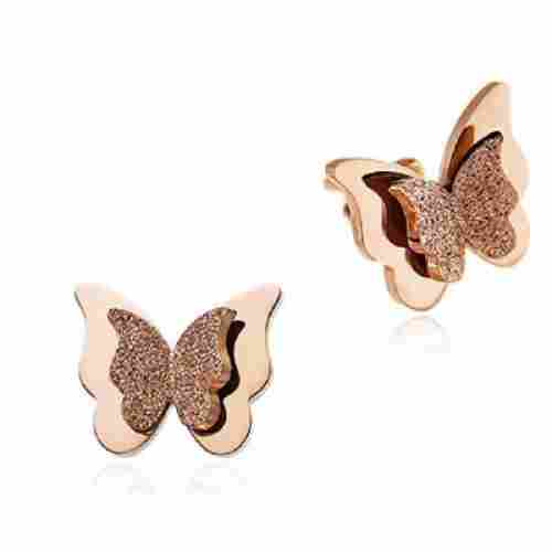 WDSHOW Rose Gold Butterfly
