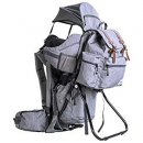 clevr urban explorer baby carrier for hiking grey