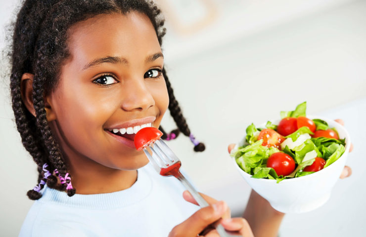 The Importance of Eating Healthy as a Youngster