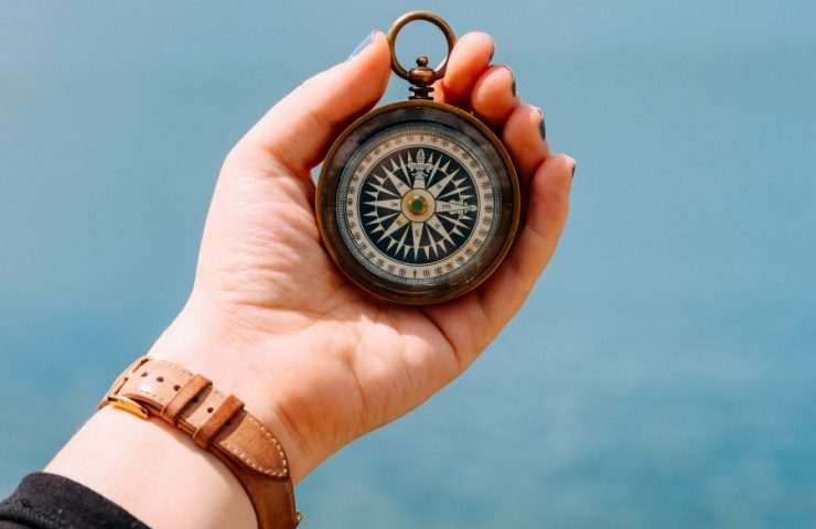 Here are different ways you can teach your children to use the compass.
