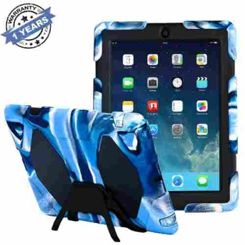 kidspr with built-in screen protector ipad case for kids