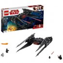 kylo ren's tie fighter lego star wars set box