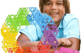 42 pcs Qubits STEM Construction Toy Kit