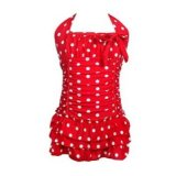 Polka Dot Adjustable One Piece