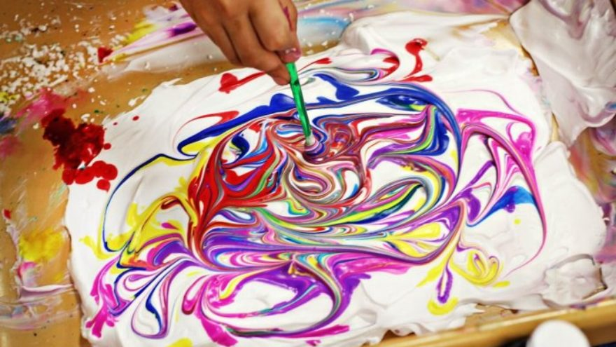 Shaving Cream Art: Tips and Suggestions