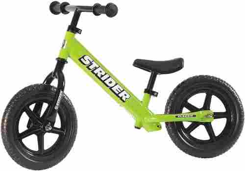 strider 12 classic balance bike green