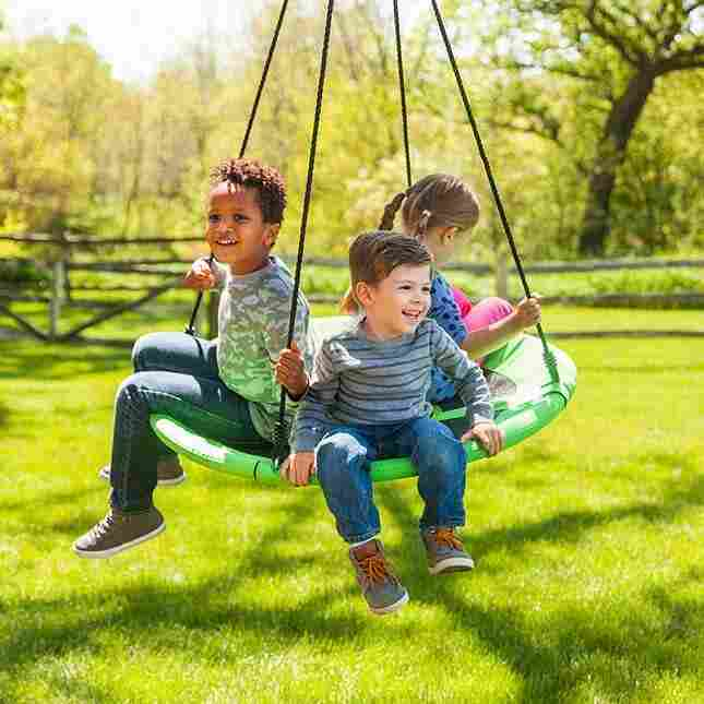 Large Swing-A-Ring - Best Outdoor Toys For Toddlers Reviewed In 2018 Borncute.com