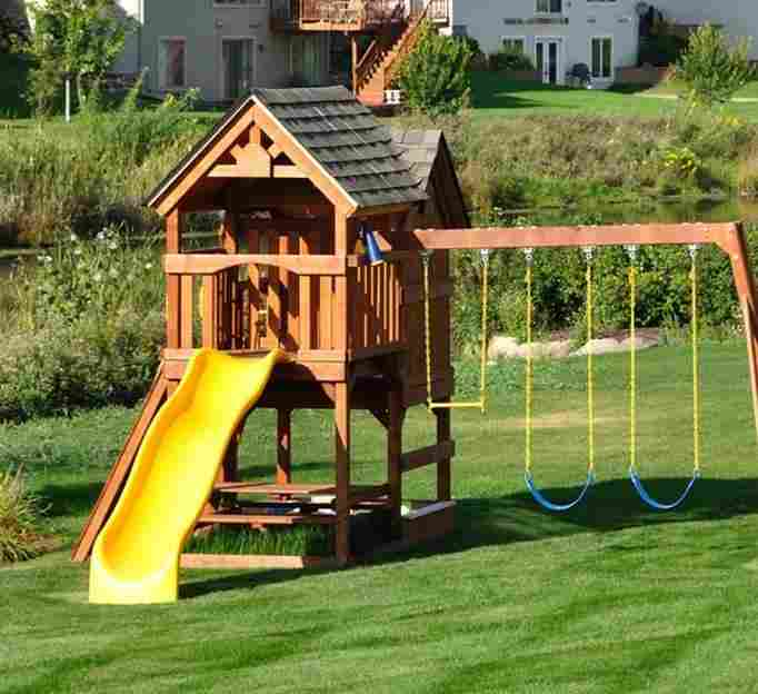 outdoor playset - Best Outdoor Playsets For Kids To Consider In 2018 Borncute.com