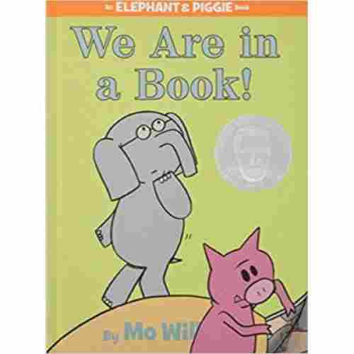 we are in a book book for 6 year olds cover